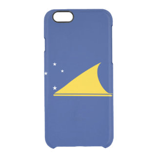 Flag of Tokelau Clear iPhone Case