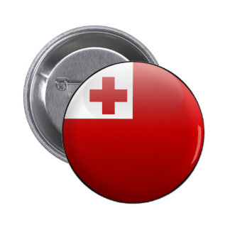 Flag of Tonga 2 Inch Round Button