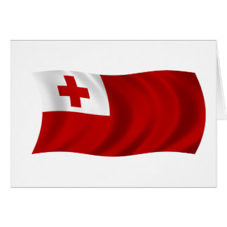 Flag of Tonga Card