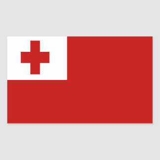 FLAG OF TONGA STICKER