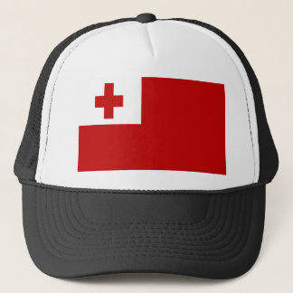 FLAG OF TONGA TRUCKER HAT