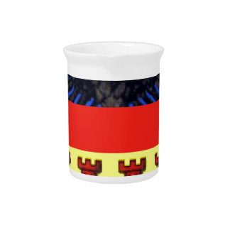 Flag_of_Transylvania Beverage Pitcher