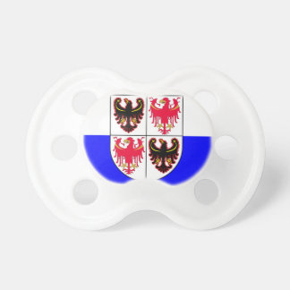 Flag_of_Trentino-South_Tyrol Baby Pacifiers
