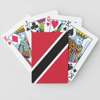 Flag of Trinidad and Tobago Bicycle Playing Cards