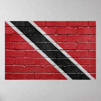 Flag of Trinidad Tobago Poster