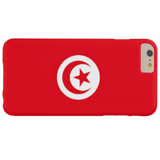 Flag of Tunisia Barely There iPhone 6 Plus Case