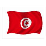Flag of Tunisia Post Cards