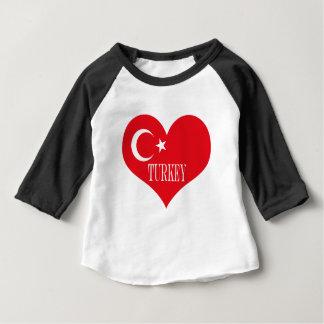 Flag of Turkey Baby T-Shirt