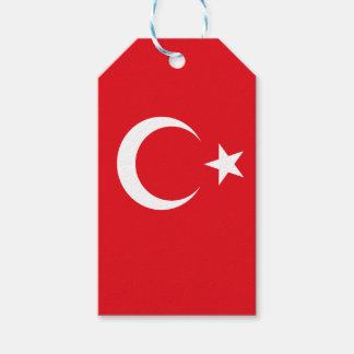 Flag of Turkey Gift Tags