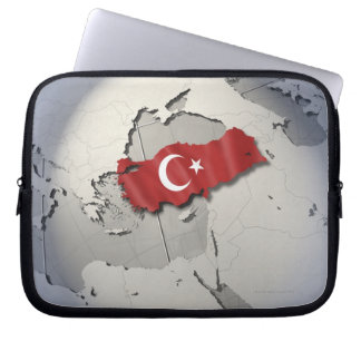 Flag of Turkey Laptop Sleeve