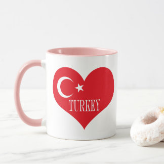 Flag of Turkey Mug