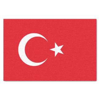 Flag of Turkey Tissue Paper