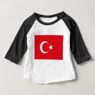 Flag of Turkey - Turkish flag - Türk bayrağı Baby T-Shirt