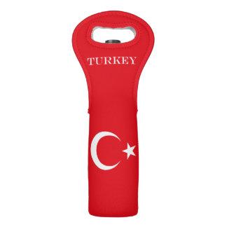 Flag of Turkey Wine Bag