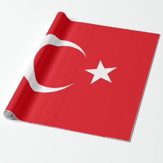 Flag of Turkey Wrapping Paper