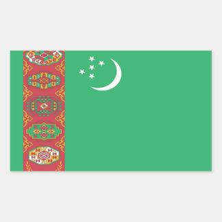 Flag of Turkmenistan Sticker