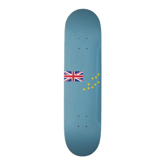 Flag of Tuvalu Skateboard Deck