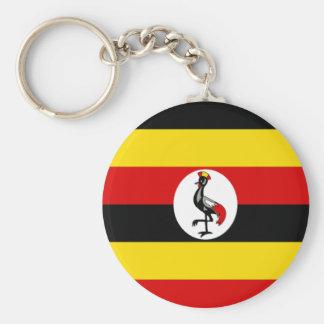 Flag of Uganda Key Chain