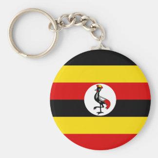 Flag of Uganda Keychain