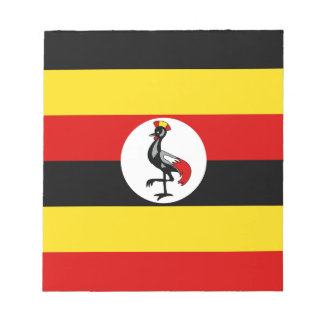 Flag of Uganda Notepad