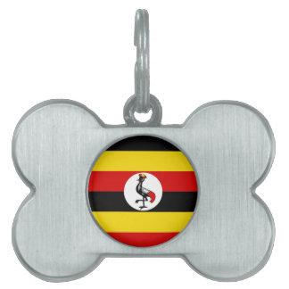 Flag of Uganda Pet Tag