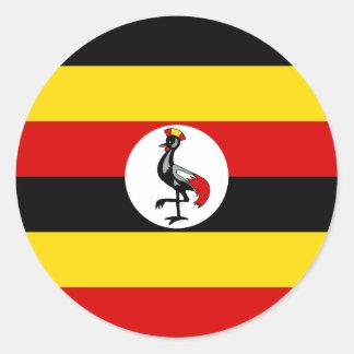 Flag of Uganda Sticker