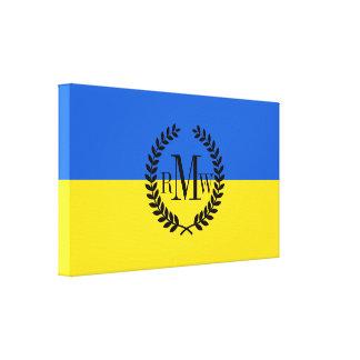Flag of Ukraine Canvas Print