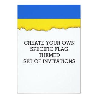Flag of Ukraine Card