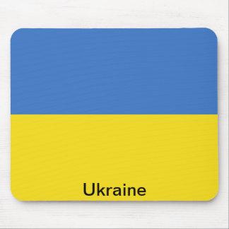 Flag of Ukraine Mouse Pad