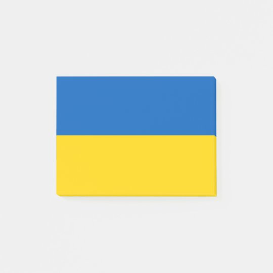 Flag of Ukraine Post-it® Notes
