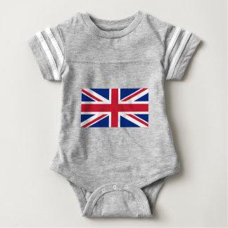 Flag of United Kingdom. Baby Bodysuit