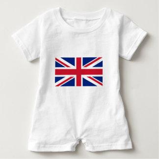 Flag of United Kingdom. Baby Romper