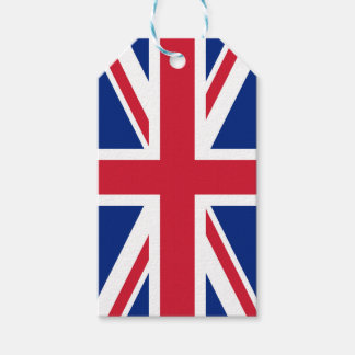 Flag of United Kingdom. Gift Tags