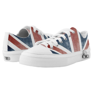 Flag Of United Kingdom Low-Top Sneakers