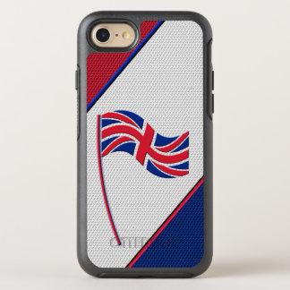 Flag of United Kingdom OtterBox Symmetry iPhone 8/7 Case