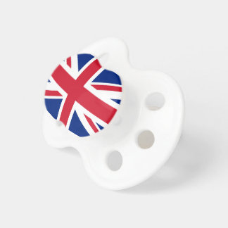 Flag of United Kingdom. Pacifier