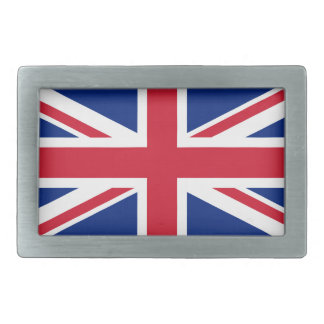 Flag of United Kingdom. Rectangular Belt Buckles