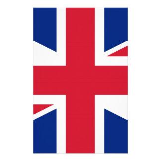 Flag of United Kingdom. Stationery