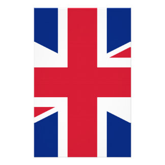 Flag of United Kingdom. Stationery Paper