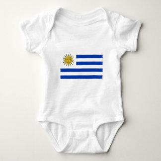 Flag of Uraguay Baby Bodysuit