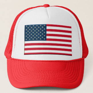 flag of usa a love america trucker hat