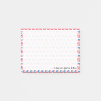 Flag of USA Emojis Post-it Notes