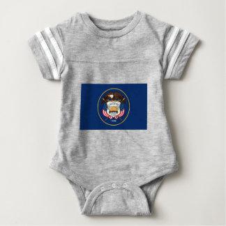 Flag Of Utah Baby Bodysuit