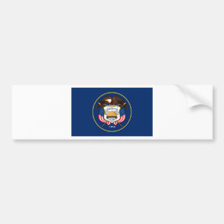 Flag Of Utah Bumper Sticker