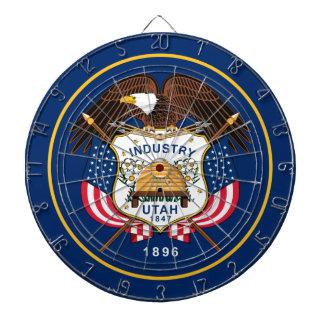Flag Of Utah Dartboard