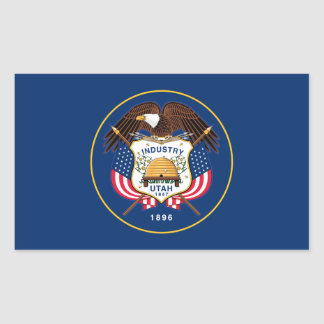 Flag of Utah Sticker