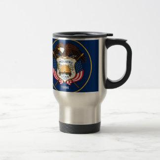 Flag Of Utah Travel Mug