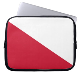 Flag of Utrecht (city) Laptop Sleeve