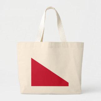 Flag of Utrecht (city) Large Tote Bag