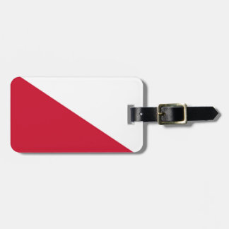 Flag of Utrecht (city) Luggage Tag